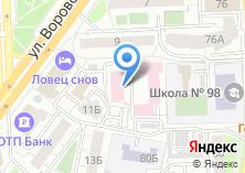 Компания «Центр восстановительной медицины и реабилитации г. Челябинска» на карте
