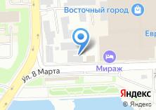 Компания «Райдин» на карте