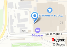 Компания «Велес-М» на карте