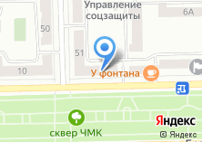 Компания «Жанна» на карте