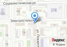 Компания «Тепловоз-электрик» на карте