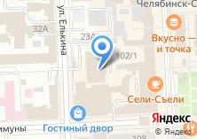 Компания «Единая компьютерная служба» на карте