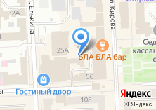 Компания «Горизонт» на карте