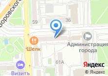 Компания «Итикан» на карте