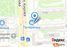 Компания «Челресторан» на карте