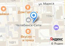 Компания «Эскорт агентство escort74.ru» на карте