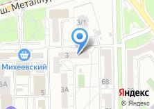 Компания «ЕВРООКНА торгово-монтажная фирма» на карте