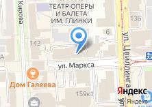 Компания «Госэкспертиза Челябинской области» на карте