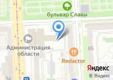Компания «Правительство Челябинской области» на карте