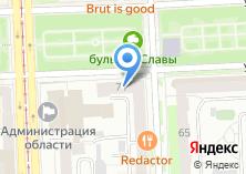 Компания «Управление социальной защиты населения Администрации Центрального района» на карте
