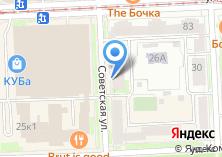 Компания «Конас» на карте