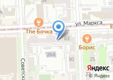 Компания «АК Барс Банк Уральский филиал» на карте