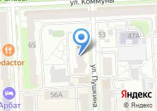 Компания «Центр развития творчества детей и юношества г. Челябинска» на карте
