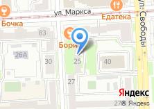 Компания «Печать74.ру» на карте