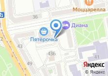 Компания «Комната» на карте