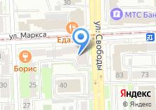 Компания «Борис» на карте