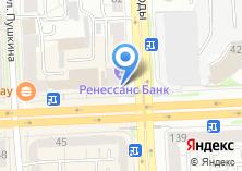 Компания «Банк РОСТ ОАО» на карте
