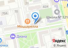 Компания «Мандарин.su» на карте