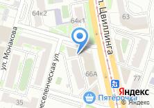 Компания «АКБ ЧЕЛИНДБАНК» на карте
