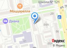 Компания «Уралмостострой» на карте
