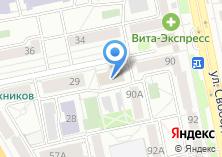 Компания «Челябинскстат Территориальный орган Федеральной службы государственной статистики по Челябинской области» на карте