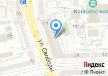 Компания «Д`Артаньян» на карте