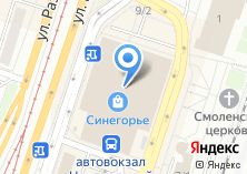 Компания «Модно» на карте
