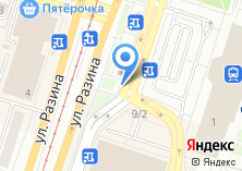 Компания «МегаФон оператор связи» на карте