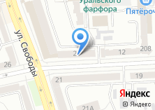 Компания «ОкнаГрупп» на карте