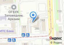 Компания «Пешеходный» на карте