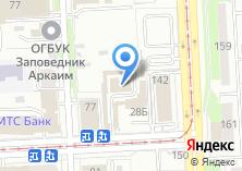 Компания «ЧелябСтеклоПром» на карте