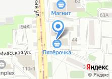 Компания «ЮжУралпатент» на карте