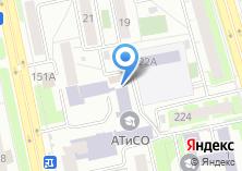 Компания «Автосервис СТО55» на карте