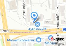 Компания «УралАвтоСаунд» на карте