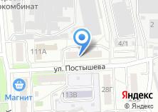 Компания «Адвокатский кабинет Крохина О.А» на карте