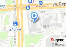 Компания «ВЫМПЕЛЬНАЯ ДОСТАВКА-УРАЛ» на карте