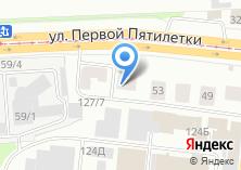 Компания «Новохим-Урал» на карте