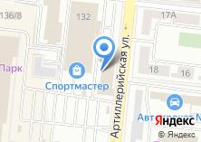 Компания «Офисная мебель» на карте