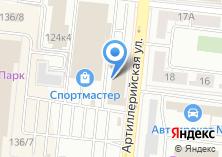 Компания «Салон офисной мебели» на карте