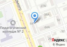 Компания «Урал-Пресс» на карте