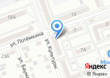 Компания «Магазин продуктов на ул. Культуры» на карте