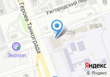 Компания «Единая служба геодезии и картографии» на карте