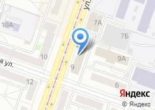 Компания «Уралстройтара» на карте