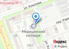 Компания «Челябинский базовый медицинский колледж» на карте