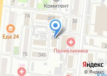 Компания «Тепло» на карте