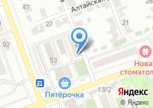 Компания «Элкана» на карте