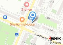 Компания «ИнвестЗайм» на карте