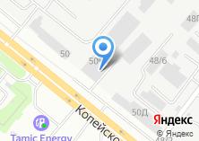 Компания «Уралавтодор» на карте