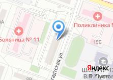 Компания «Мебельдаром74.рф» на карте