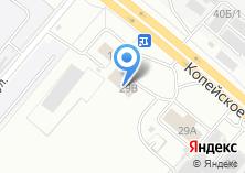 Компания «Волга Газель» на карте